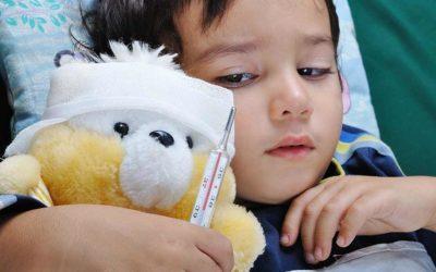 Børnesygdom: Hvor tit bliver børn syge?
